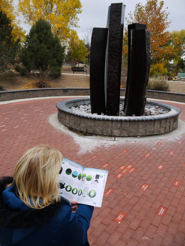 Barb Reading Flash Book Yavapai College Sculpture Garden